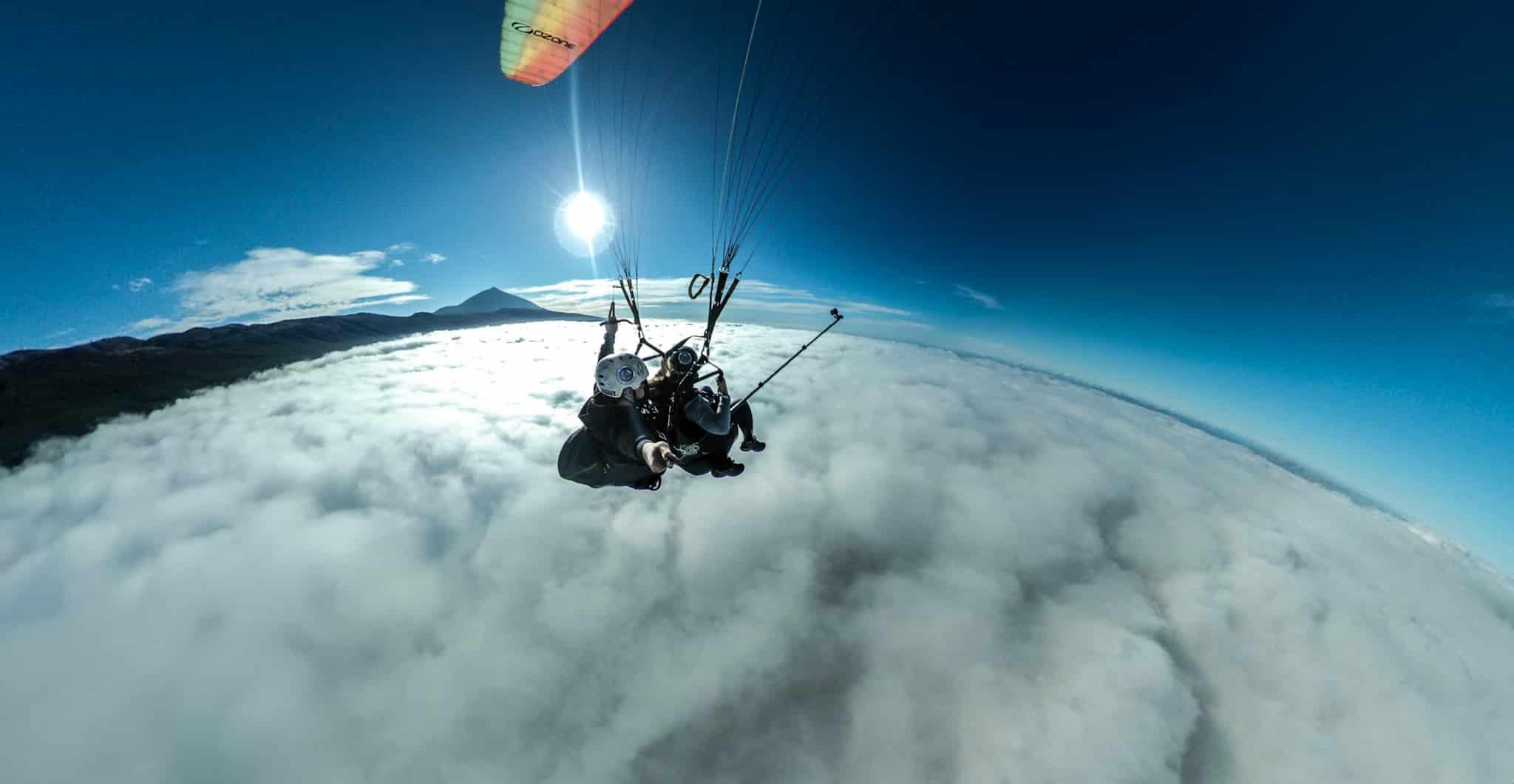 Despegue:el Teide