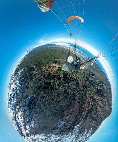 ggaparapente foto en 360 planeta
